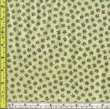 Beatrix Potter Peter Rabbit Radish Green Cotton Material 1/4 yd 22.5 cm off bolt