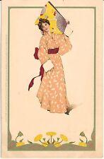 """Japanese Beauty"" German Made Postcard"