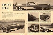 1956 magazine article 'Buick Coupe De Ville' Buick-Cadillac Combo!!   060214