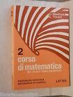 CORSO DI MATEMATICA Vol 2 Probabilita Statistica D Manfredo L Tricerri LATTES di