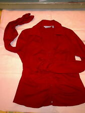 ATMOSPHERE - CAMICIA - SHIRT - ROSSA RED - SIZE: UK 12 - EUR 40 - LONG SLEEVE
