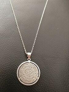 Greek Silver Pendant