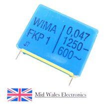 10 WIMA metallisierter poliestere canalizzatore mks02 10/% 63v 0,047uf 2,5mm 089662