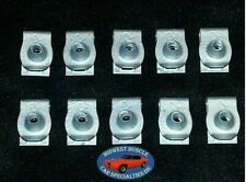 GM Body Fender Dash Factory Correct #8 Coarse Screw U Clip Panel J Nut 10pcs O