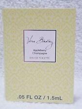 Vera Bradley APPLEBERRY CHAMPAGNE Eau De Toilette Splash Sample/Vial .05 oz New
