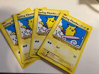 4x Pokemon TCG - Evolutions - Surfing Pikachu - Rare  NM (111/108)