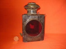 "Rare Antique Carriage / Automobile Lantern "" SUMMA BONDON & VALLOT"