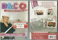 DVD - D&CO : DECO : LES PIECES A VIVRE avec VALERIE DAMIDOT ( NEUF EMBALLE )