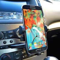 360° Car Dash CD Slot Cell Phone Holder Mount for Samsung Galaxy S7 Edge S8 S9+