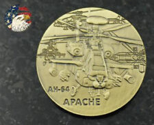 U.S. Army / AH-64 Apache - Bronze Challenge Coin