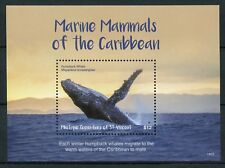 Mustique Gren St Vincent 2018 MNH Marine Mammals Humpback Whales 1v S/S Stamps