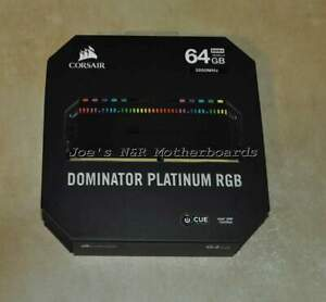 Corsair Dominator Platinum 64GB (4x16GB) DDR4 Desktop Memory CMT64GX4M4C3000C15