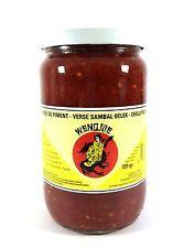 4 x 725g Sambal Oelek Wendjoe Rote Chilli Soße Chili Paste scharf
