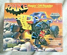 VHTF POWER MACHINES: RAKE, RANGIN´ OFF ROADER! (GALOOB, 1985). BRAND NEW IN BOX!