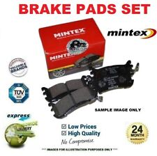 MINTEX Front Axle BRAKE PADS for SSANGYONG KORANDO Cabrio 2.3 1999-2006