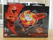 Power Ranger Super Ninja steel Deluxe Lion Morpher with darts & star BNIB