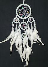 9 cm x 35 cm Weiß Perlen Dreamcatcher Traumfänger Träume Geburtstag Geschenk