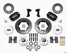 Ford Mustang II, Pinto Wilwood Dynapro Dustboot Front Brake Kit,Drilled Rotors ~