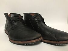 Vintage Black Timberland Boot Company Leather Boots Men's Size 11