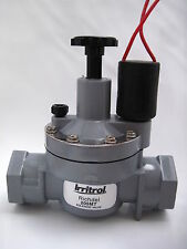 Irrigation Solenoid 25mm with flow control 205MT x4