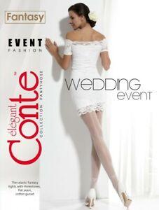 Wedding Tights Sexy Elegant Matt-Transparente Tights Event Conte