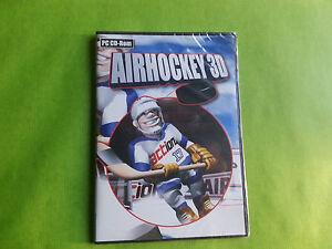 Airhockey 3D pc cd rom gioco for windows nuovo ita sigillato