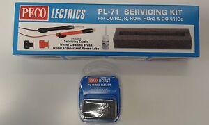 Electric Servicing Kit (loco maintenance) + track rubber Peco PL-71/41