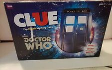 Clue Dr. Who Board Game