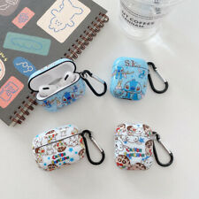 Cartoon Stitch Earphone Protective Cover For AirPods Pro 1 / 2 Charging Case