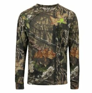 Mossy Oak Men's Large All Over Camo Long Sleeve Tee