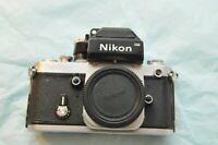 Nikon F2 Photomic 35mm Camera Body,Chrome