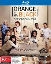 Orange Is The New Black Series Complete Season 1-4 1 2 3 4 New Blu Ray Set