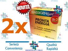 NOVITA'! 2 confezioni Massigen PRONTA ENERGIA € 15,90 !!!!!! PROMO!!