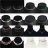 Gothic Sexy Women Sequins Beads Choker Necklace Simple Chain Collar Jewelry Gift