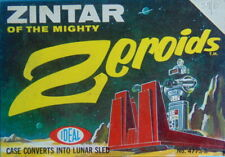 Rare 1968 boxed No.47738 ZINTAR OF THE MIGHTY Zeroids space robot toy by IDEAL