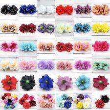 50Pc/Lot 8cm Peony Flower Head Large Artificial Silk Flowers Wedding Party Decor