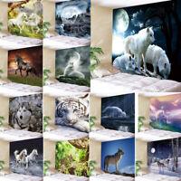 Arazzo Da Muro Animali Fondo Stanza Attaccatura Parete Attaccatura Decorazione