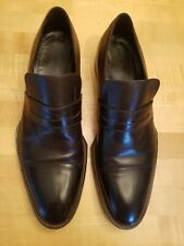 Vintage GUCCI Men's Leather Loafers Dress Tom Ford Original Gucci Plate sz 10.5