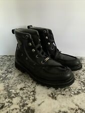 Harley-Davidson Men's Motorcycle Boots Size 10 Black Stock No. 94031