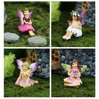 Fiddlehead fairy garden - tiny fairies for terrarium fairy gardens or cake decor