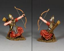 King and Country romani-Roman Archer (inginocchiata al fuoco) ROM022 in metallo verniciato
