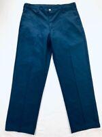 Workrite Benchmark FR Flame Resistant Nomex III Mens 35x32 Navy Blue Work Pants