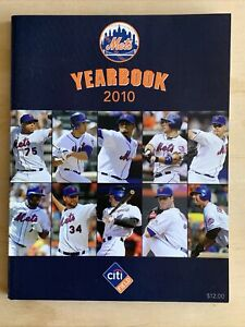 2010 New York Mets Baseball Official Yearbook Near Mint Condition