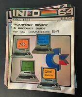 Vtg Info 64 Magazine Commodore 64 Amiga Computing Computer History Lot