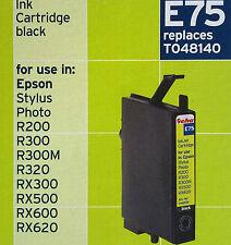 GEHA e75 BLACK replaces t048140 Epson Stylus Photo r200/300/300m/320 rx300/500
