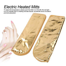 Spa Heated Mittens Manicure Gloves Paraffin Wax Therapy Heated Mitts Electric