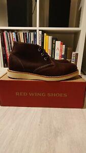 Redwing Chukka Boots, Briar Oil Slick, UK 9