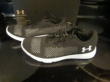 New Mens Black & White Under Armour Rapid Tennis Shoes Size 9