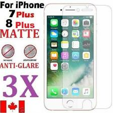 3pcs MATTE ANTI-GLARE FRONT SCREEN PROTECTOR FOR IPHONE 7 PLUS & IPHONE 8 PLUS