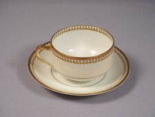 Limoges France Schleiger 278 by HAVILAND Coffee tea cup Saucer Antique
